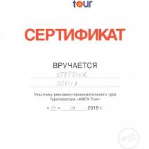 сертификат2018