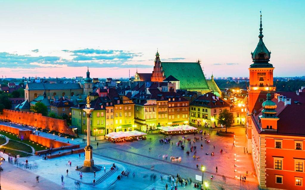 Горящие туры в Польшу из Херсона, Львова, Одессы, Киева